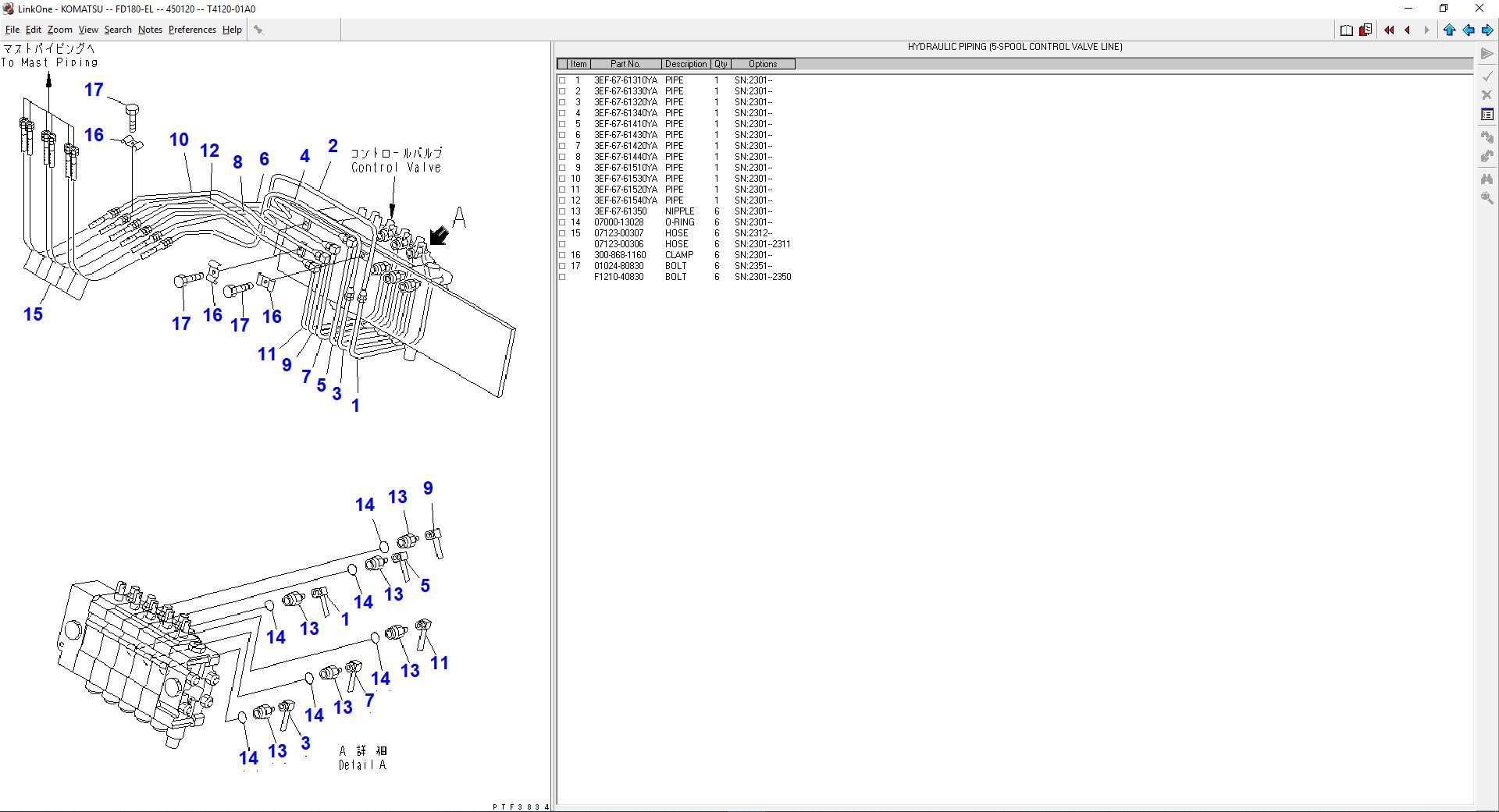 Komatsu_Forklift_Link_One_112012_Spare_Parts_Catalog8