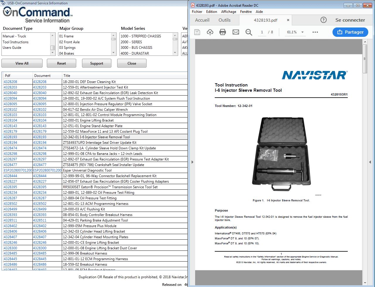 navistar ht 570 engine diagram navistar oncommand service information 2018 auto repair software  navistar oncommand service information