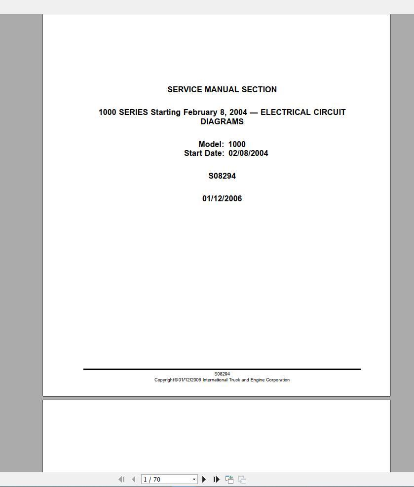 International_Trucks_Full_Model_Service_Manual_DVD7