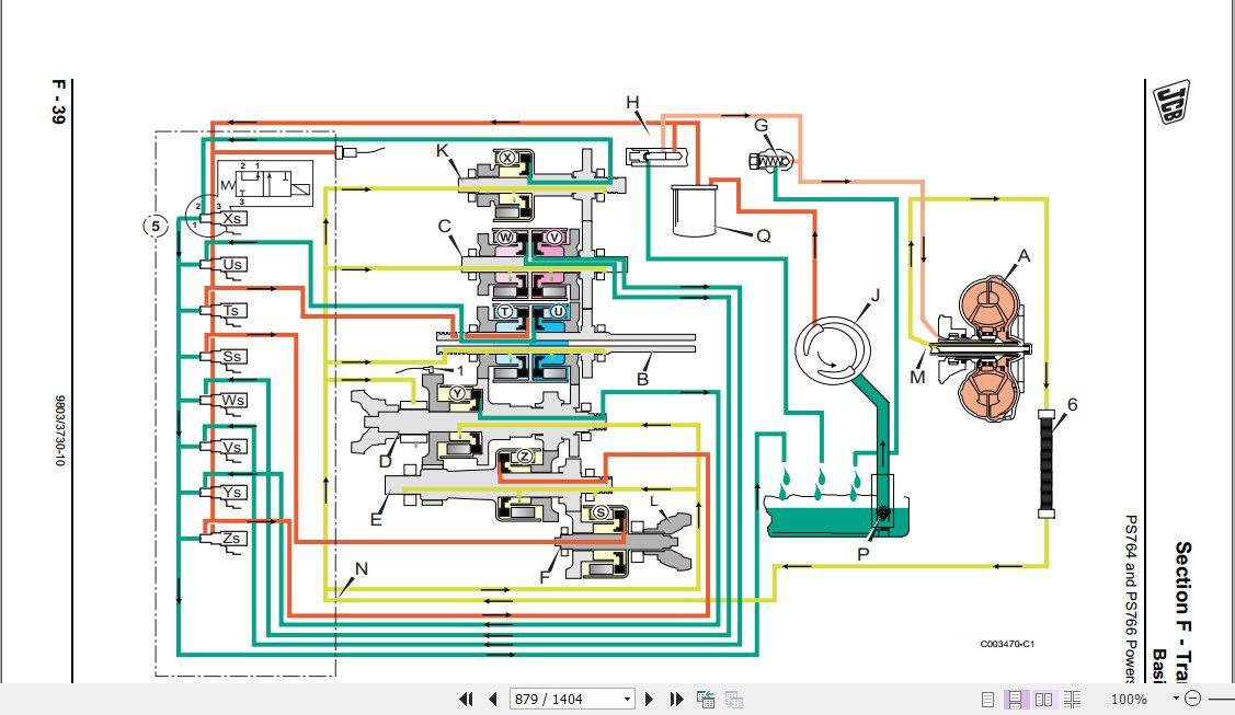 Jcb Liftall Loadall 531 70 540 170 Tier, Jcb Wiring Diagram Pdf