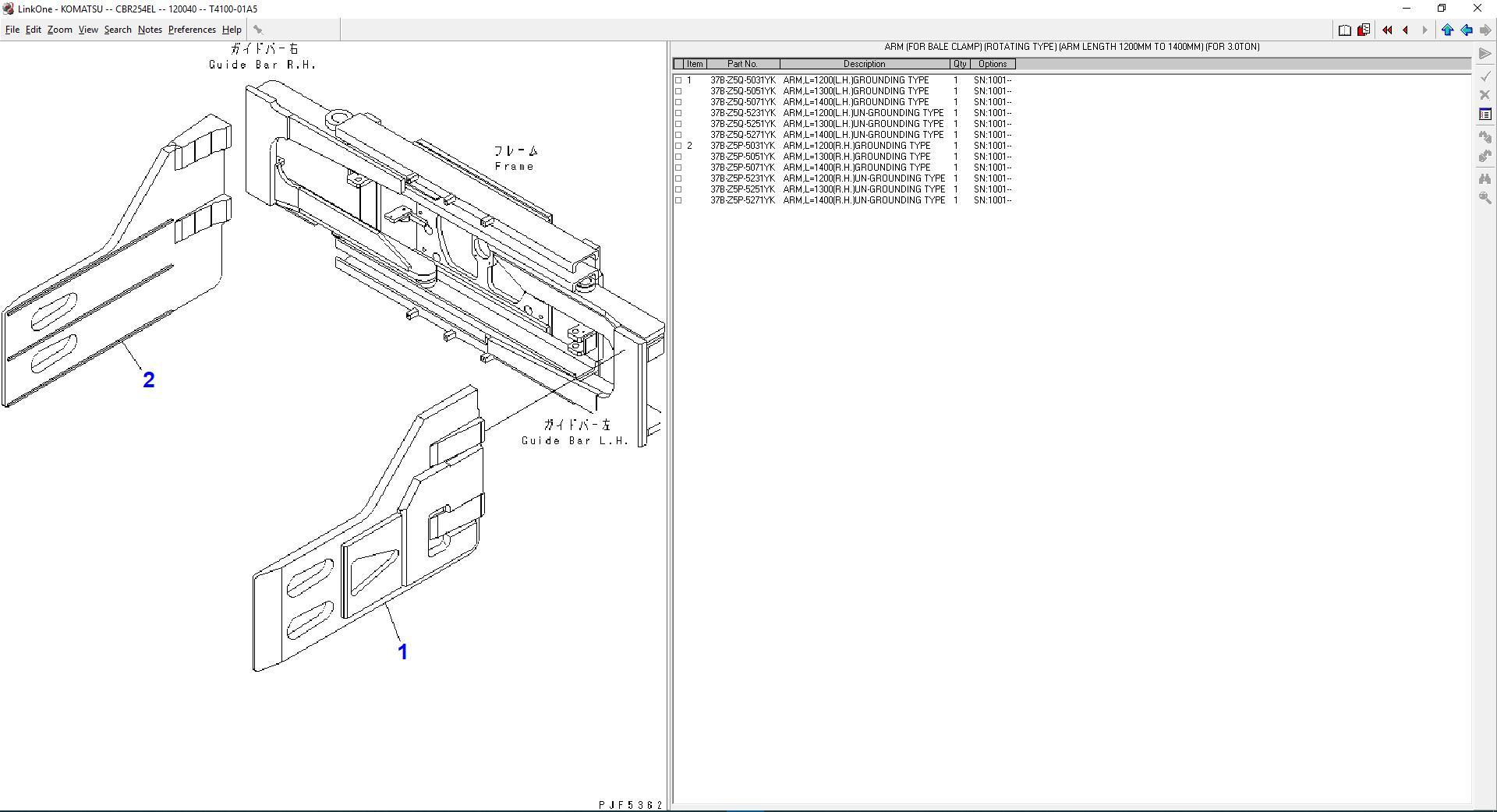 Komatsu_Forklift_Link_One_112012_Spare_Parts_Catalog4