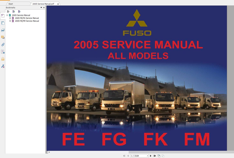 Mitsubishi_Truck_Fuso_2016_Service_Manual_Full_DVD10
