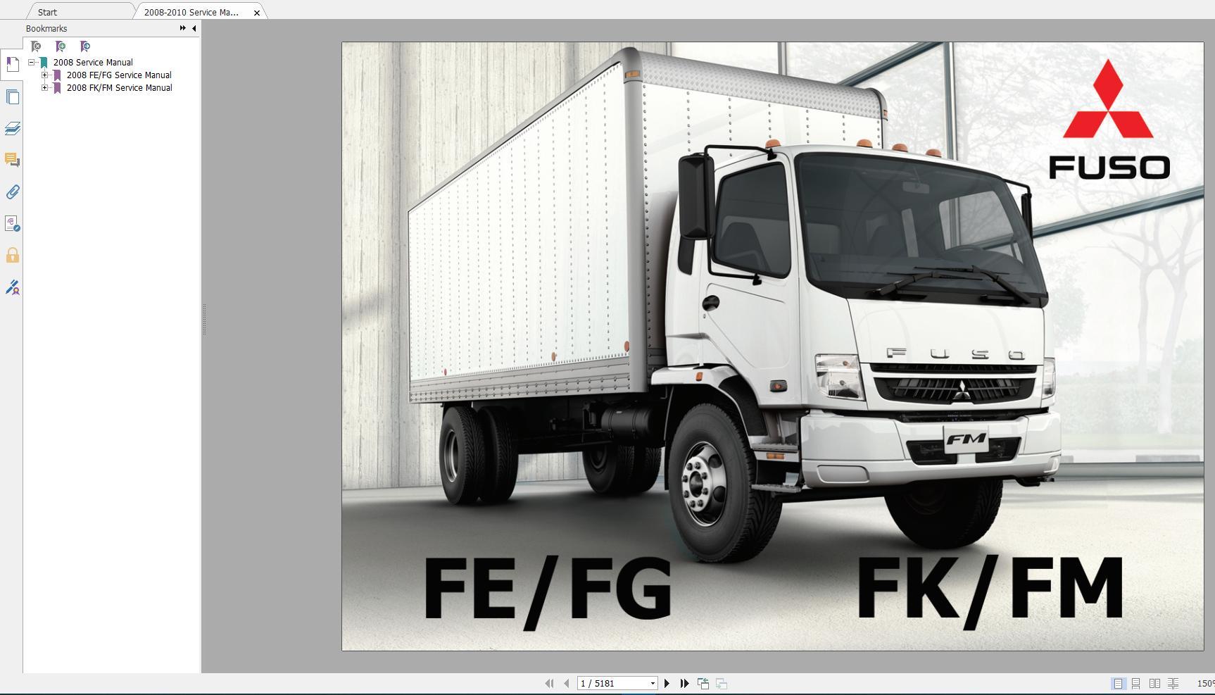 Mitsubishi_Truck_Fuso_2016_Service_Manual_Full_DVD9