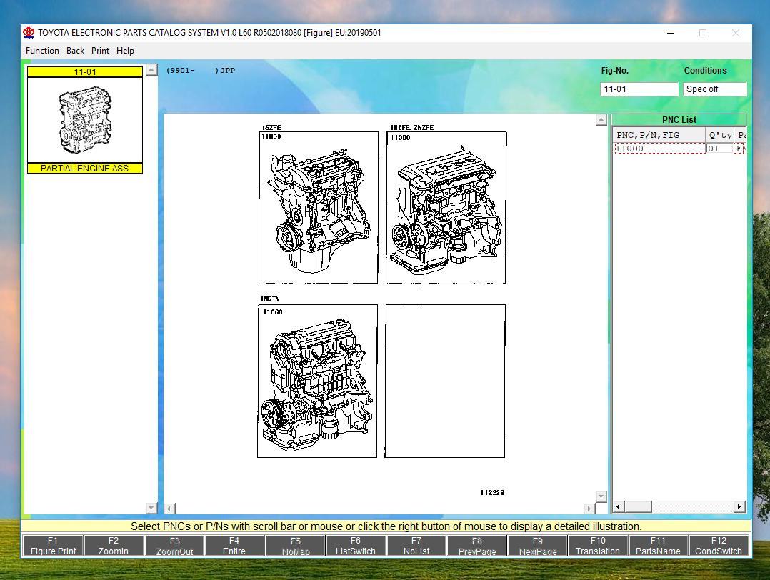 ToyotaLexusEPCALLREGIONS0520198