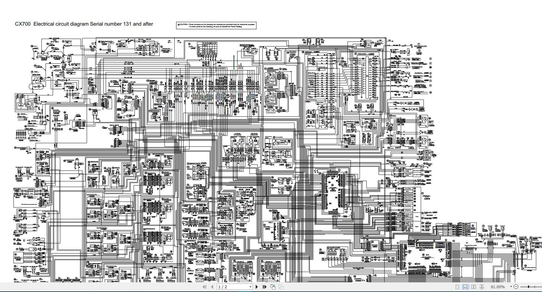 Hitachi Sumitomo Crawler Crane Scx700 Circuit Diagram