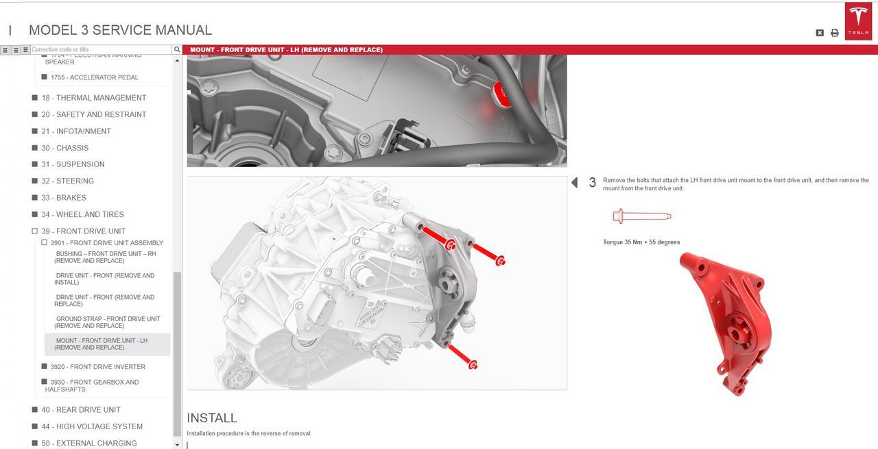 Tesla Models 3 Service Manual And Wiring Diagram  2018