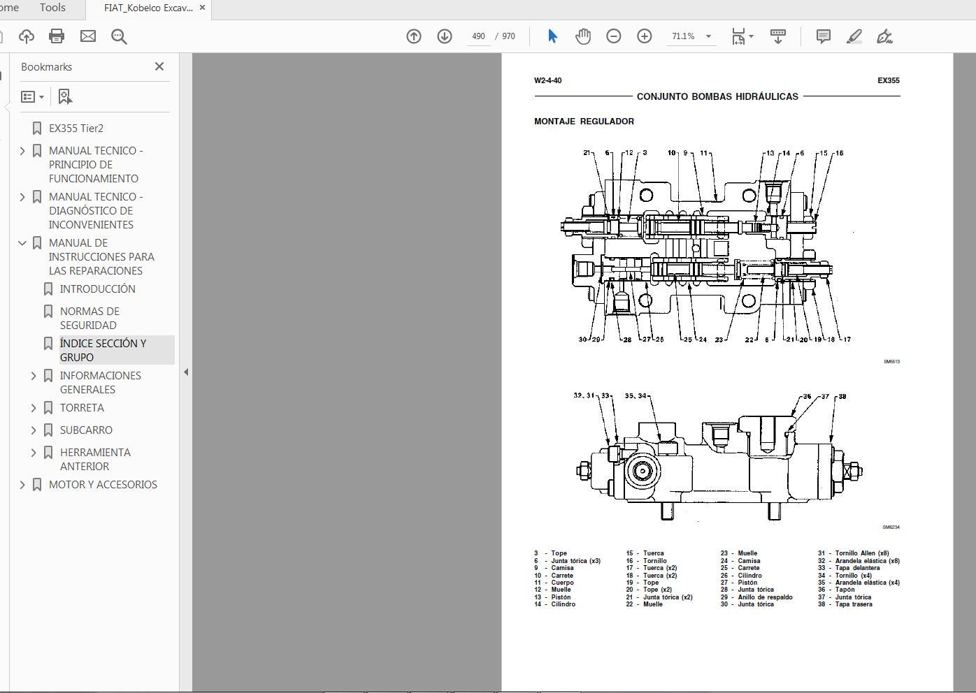 FIATKobelco_Excavator_EX355_Tier2_60413209_Service_Repair_Manual_5