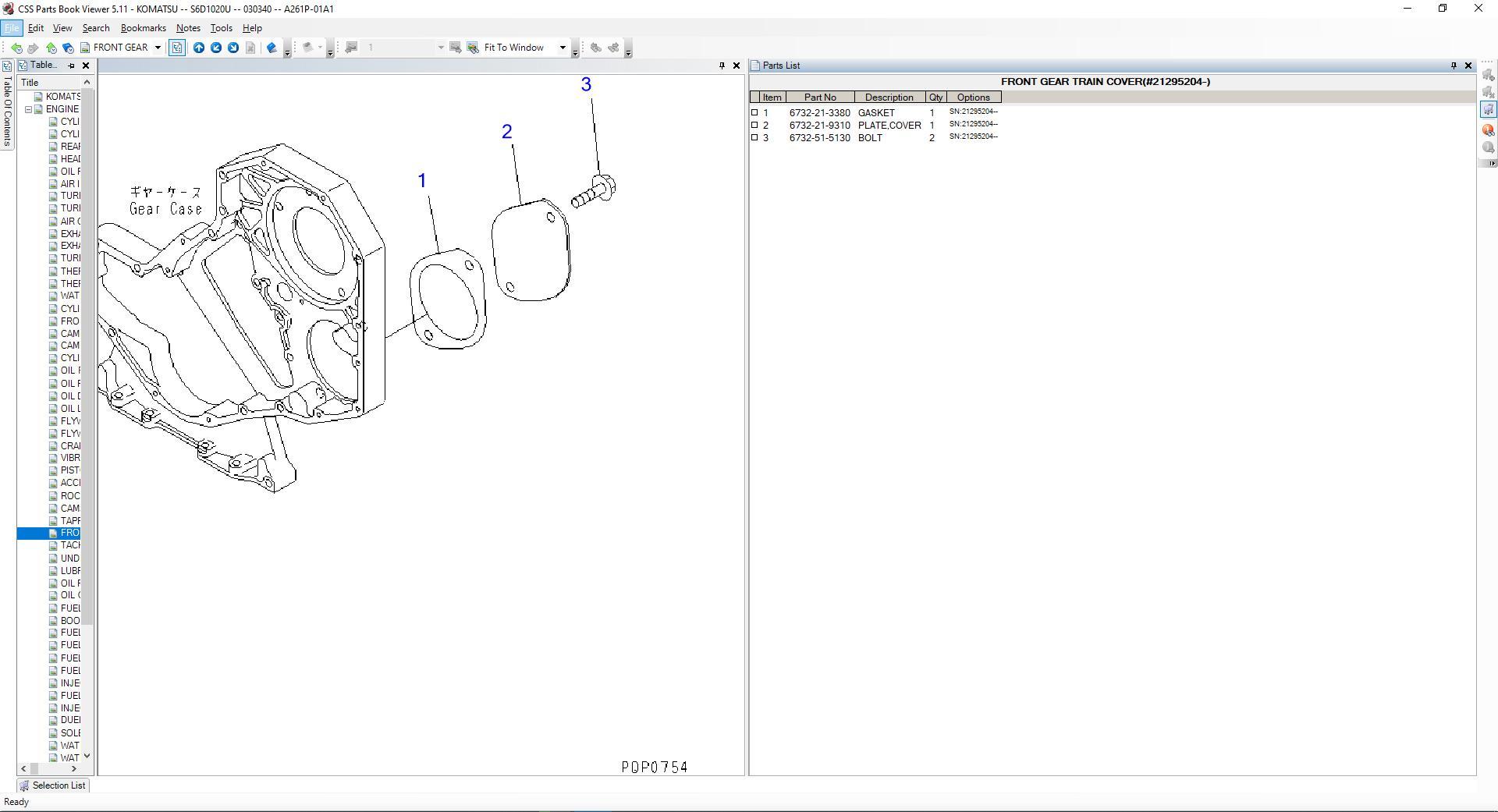 Komatsu_EPC_Linkone_CSS_Parts_Vewer_511_102019EU3