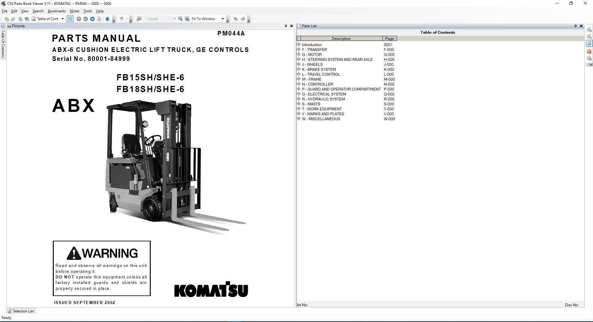 Komatsu_Forklift_USA_CSS_Part_EPC_1020194