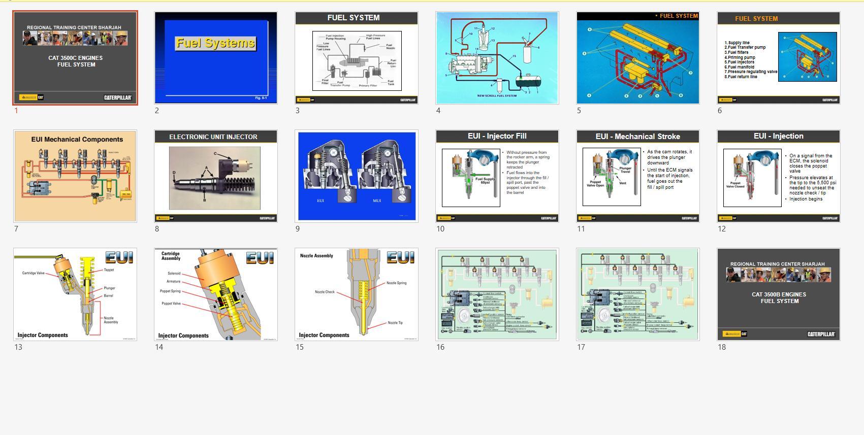 CAT_Marine_Engine_Service_Training_CD10
