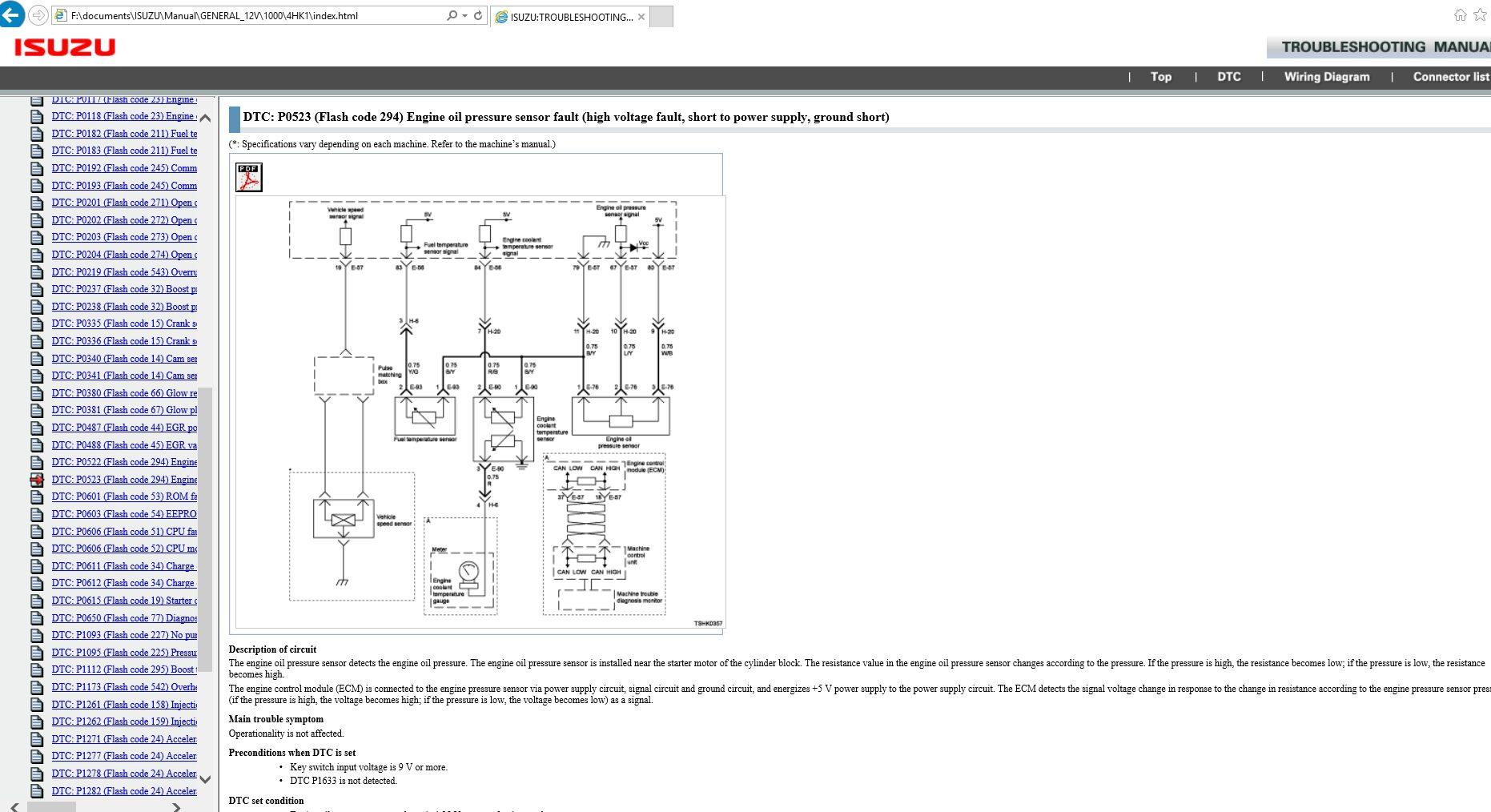 Isuzu Trucks Engine Models 4hk1 4jj1 6hk1 Service Repair