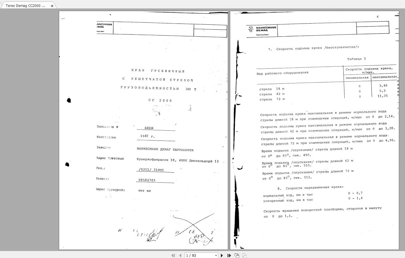 Terex_Demag_CC2000_Crawler_Crane_Passport