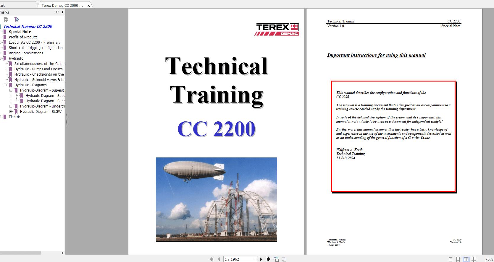 Terex_Demag_CC_2000_Crawler_Crane_Technical_Service_ManualVer1
