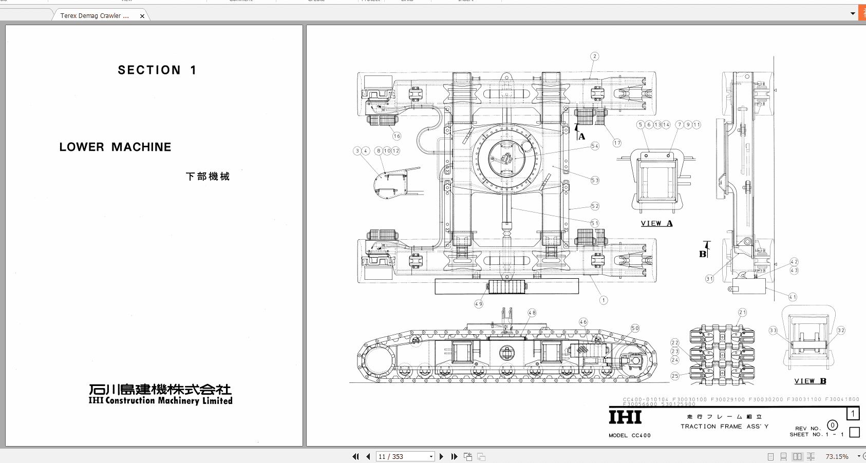 Terex_Demag_Crawler_Crane_CC400_HD83_Parts_Catalog_2