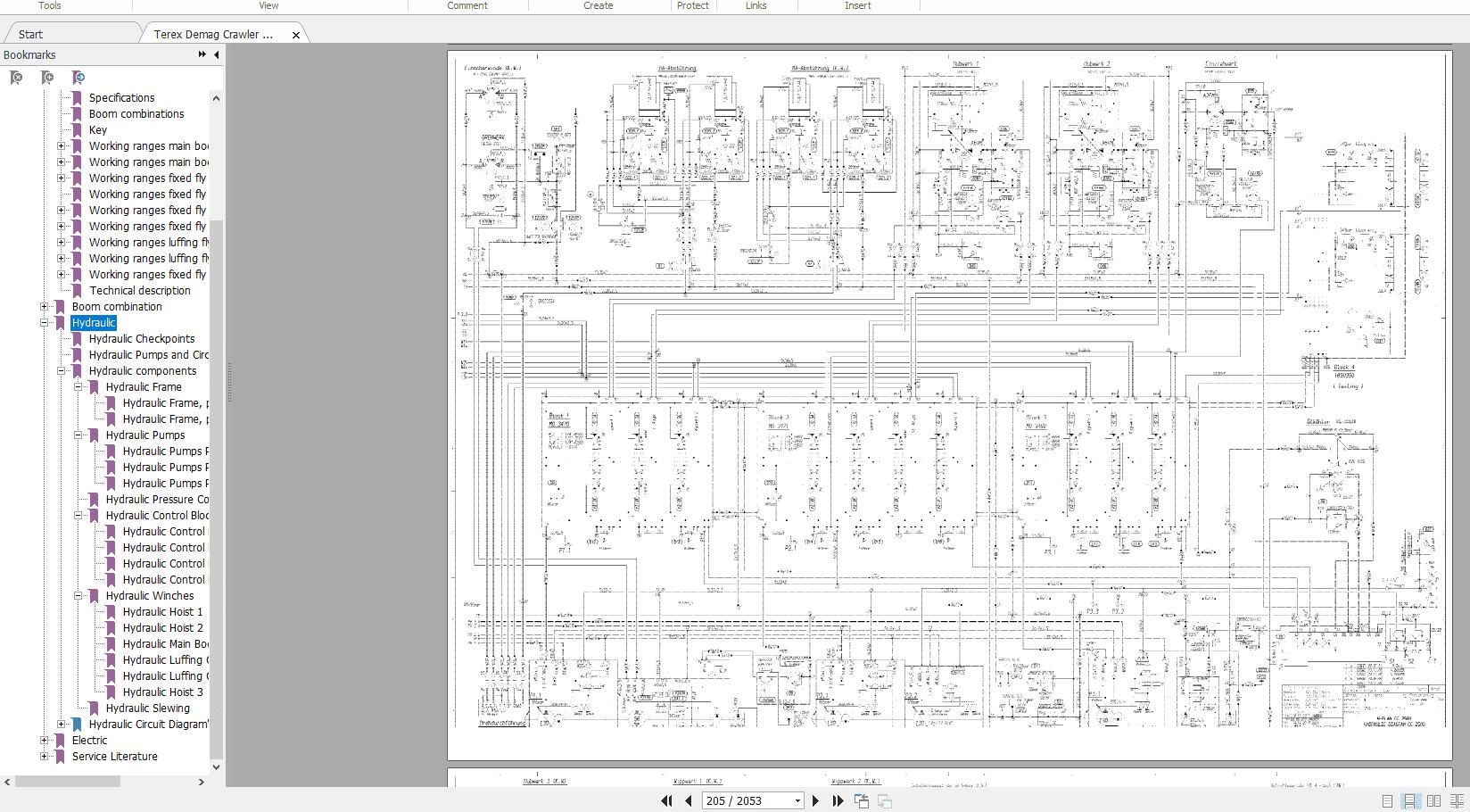 Terex_Demag_Crawler_Crane_CC_2500_Technical_Service_Manual_3