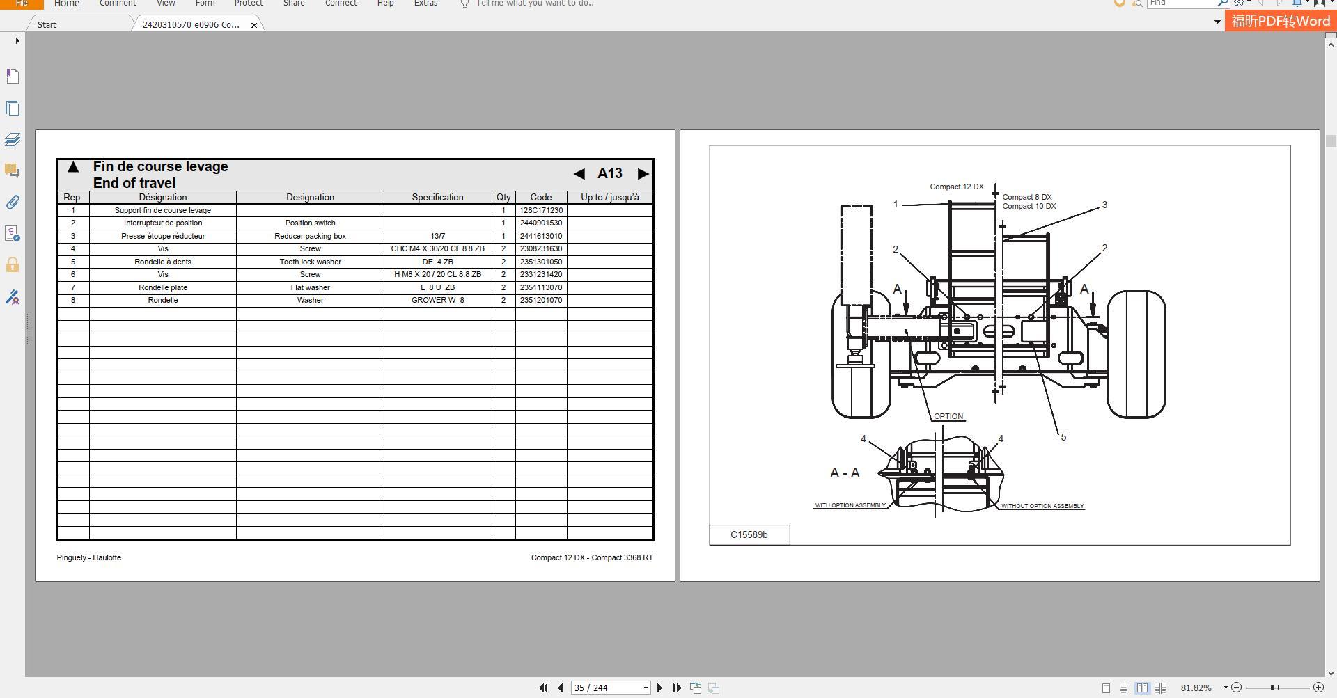 Haulotte_Work_Platforms_and_Telehandlers_Service_Maintenance_Operators_Manual_Training_Spare_Parts_Manual_DVD10