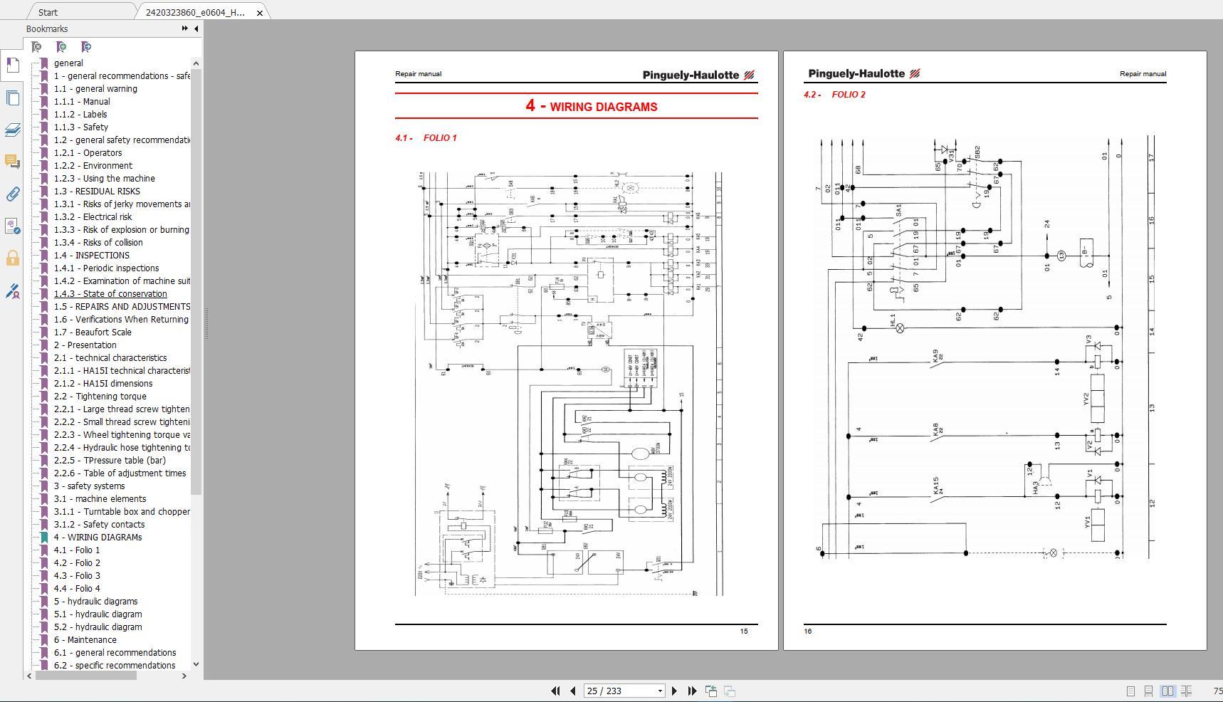 Haulotte_Work_Platforms_and_Telehandlers_Service_Maintenance_Operators_Manual_Training_Spare_Parts_Manual_DVD18