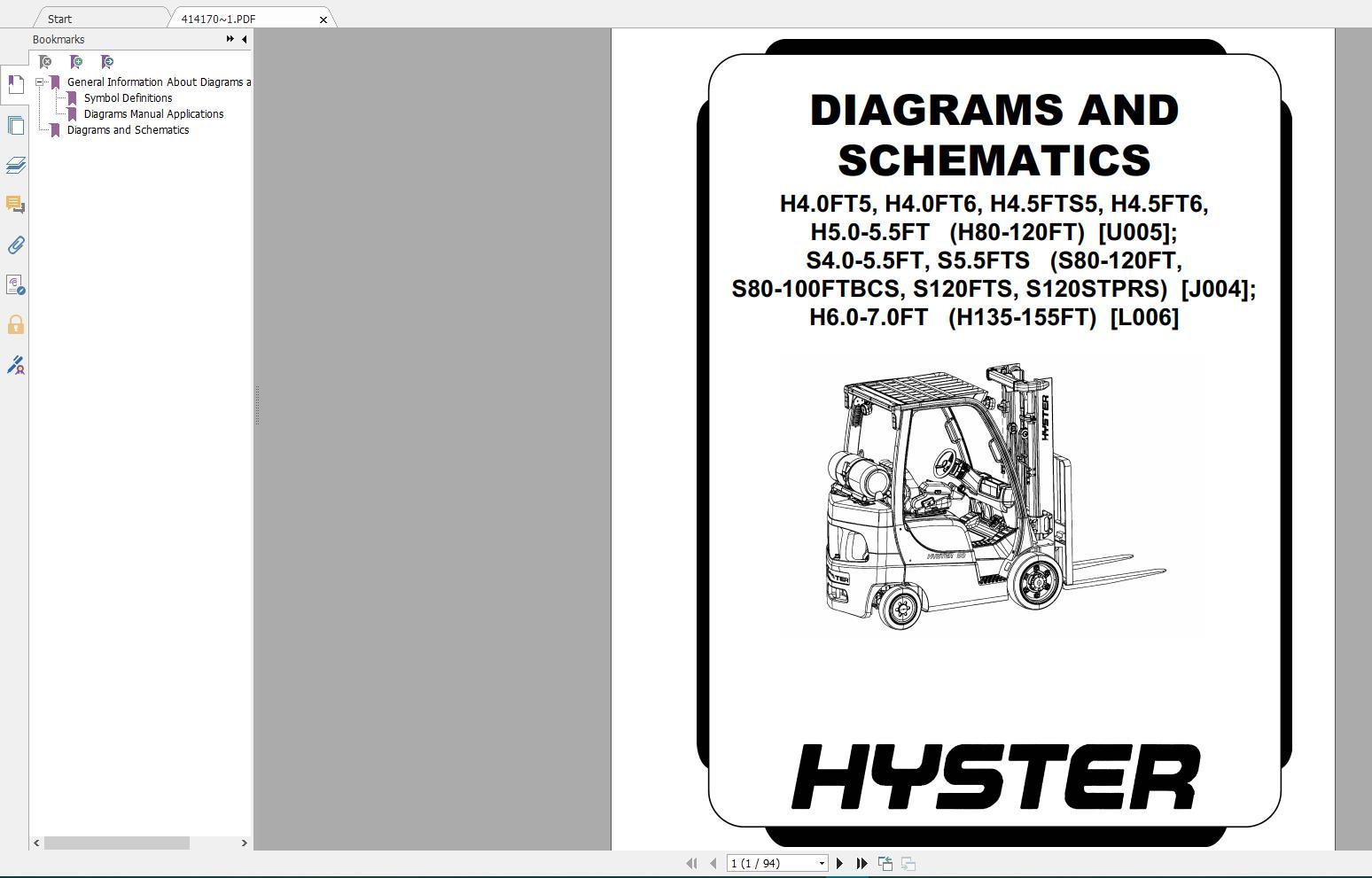 engine repair diagram hyster forklift class 4 internal combustion engine trucks repair  4 internal combustion engine trucks