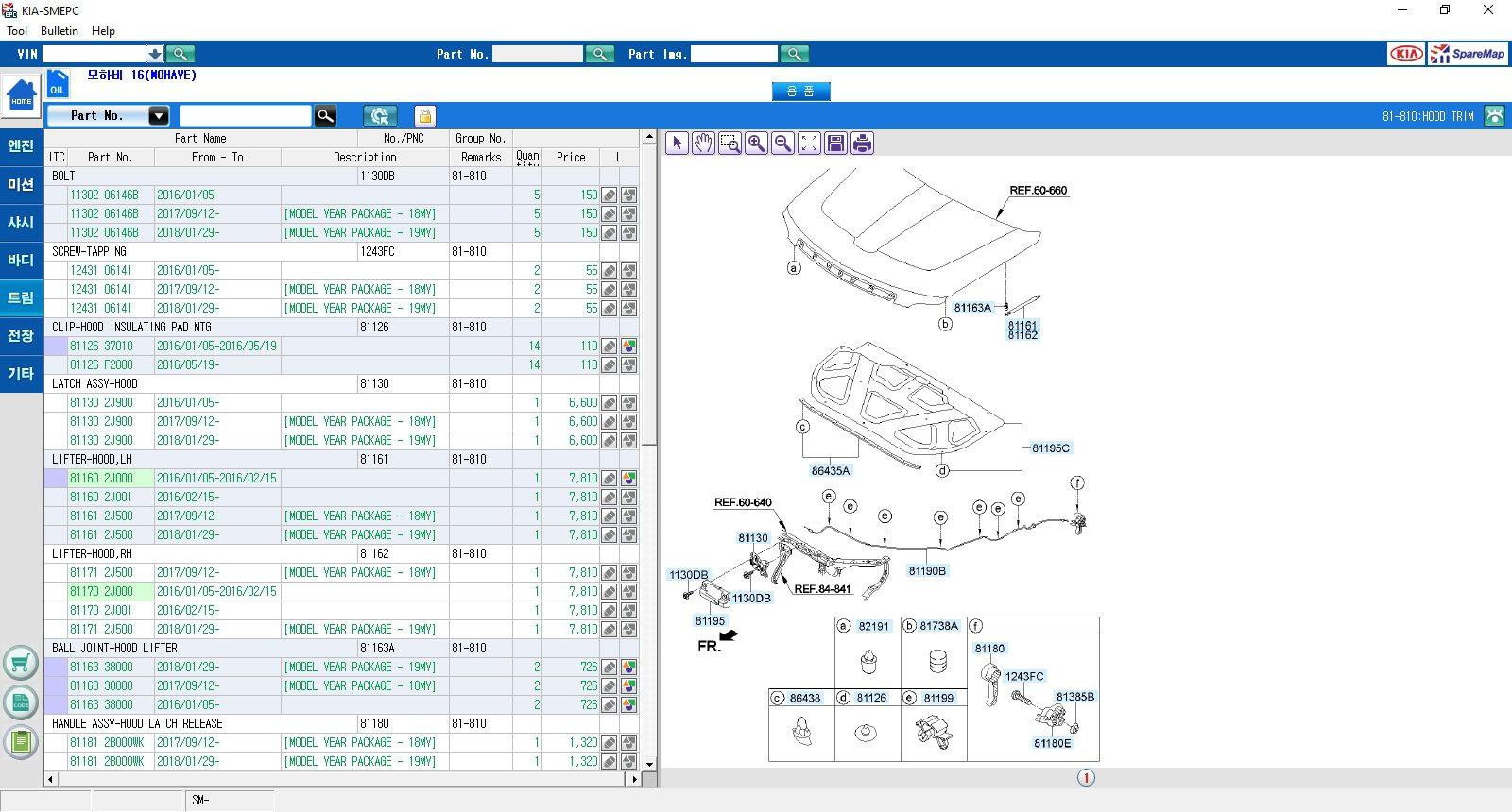 Hyundai_Kia_Korea_SM_EPC_072019_Parts_Catalog_Domestic_Market_5