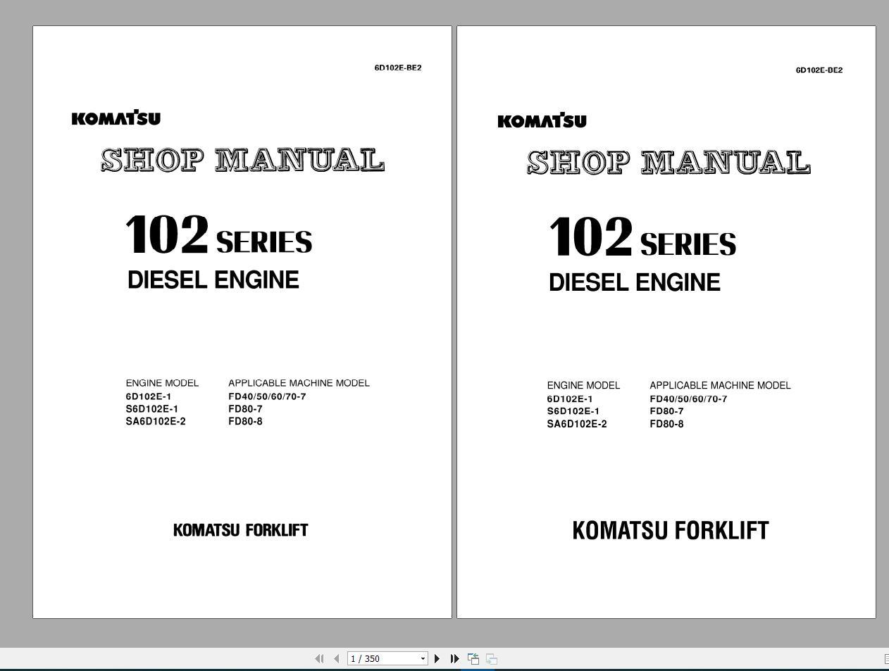Komatsu_Forklift_Service_Manual_PDF_DVD3
