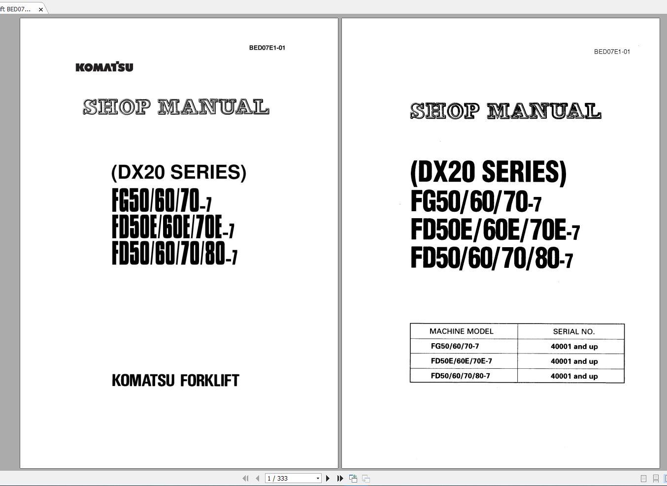 Komatsu_Forklift_Service_Manual_PDF_DVD7