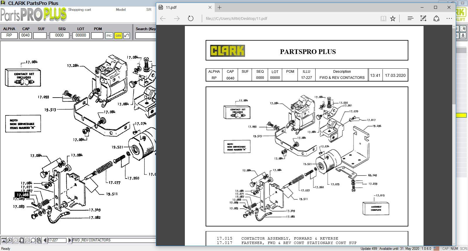 Clark_ForkLift_Parts_Pro_Plus_v499_032020_10