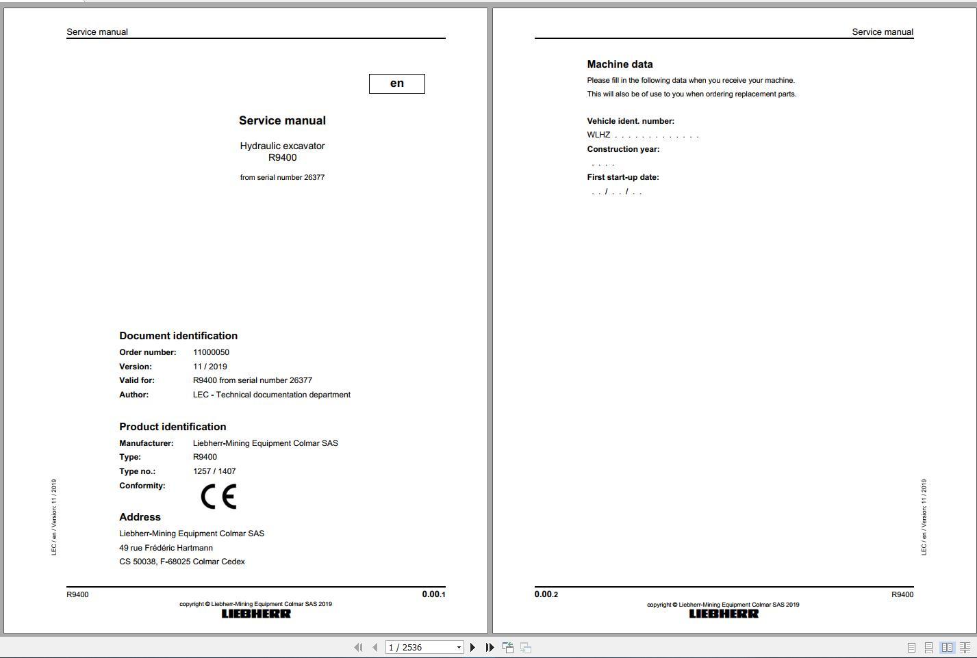 Liebherr_Mining_Excavators_Service_Manual_New_Updated_032020_25