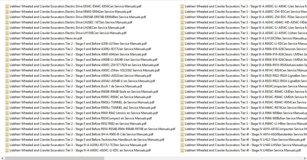 Liebherr_Wheeled_and_Crawler_Excavators_Updated_032020_Full_Service_Manuals_6