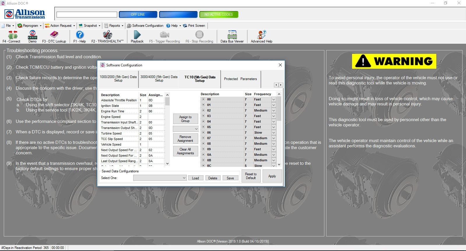 Universal_Allison_DOC_v201910_Build_042019_Transmission_Diagnostic_Software_Full_Instruction_17