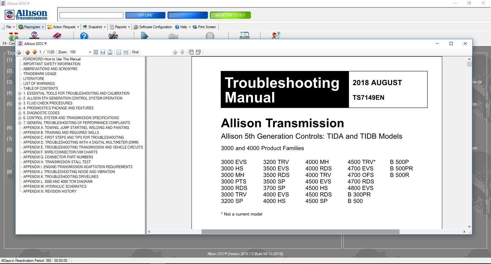 Universal_Allison_DOC_v201910_Build_042019_Transmission_Diagnostic_Software_Full_Instruction_19