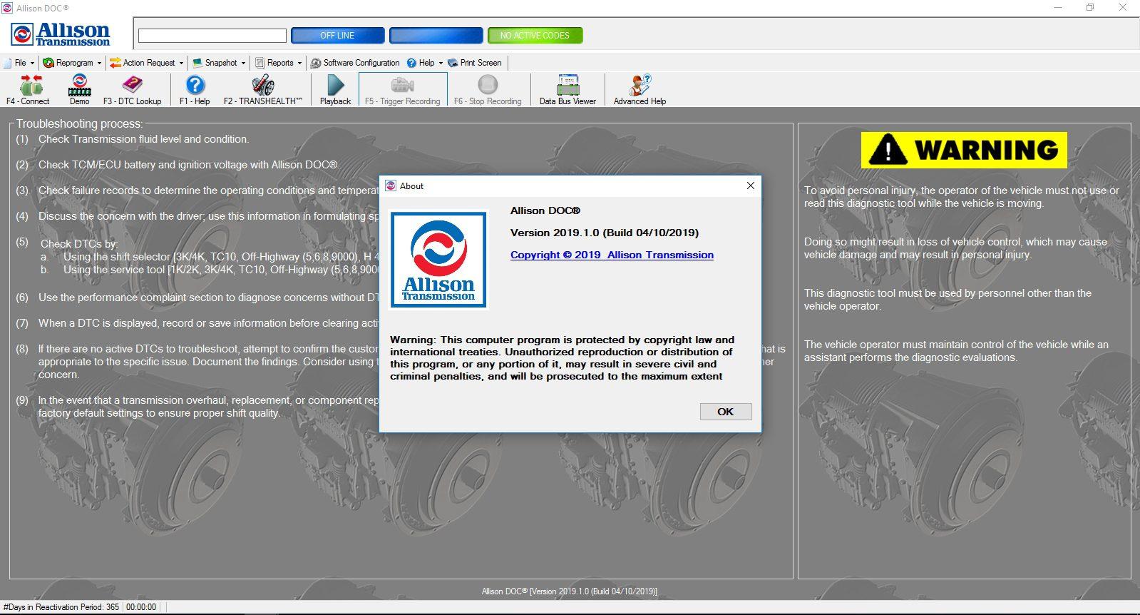 Universal_Allison_DOC_v201910_Build_042019_Transmission_Diagnostic_Software_Full_Instruction_2