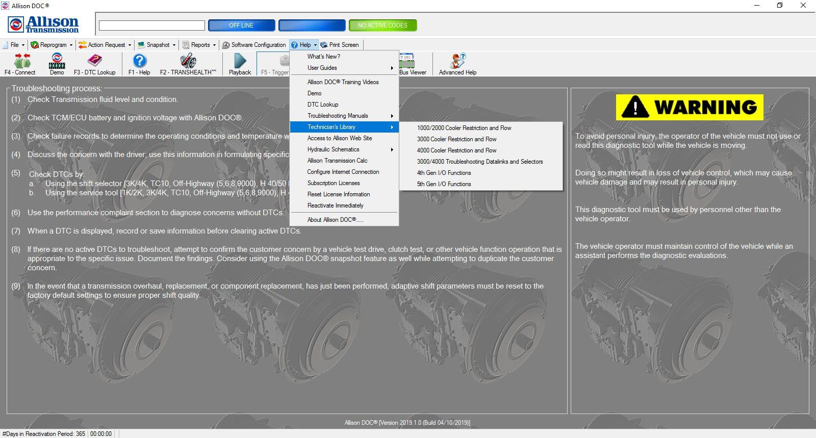 Universal_Allison_DOC_v201910_Build_042019_Transmission_Diagnostic_Software_Full_Instruction_20