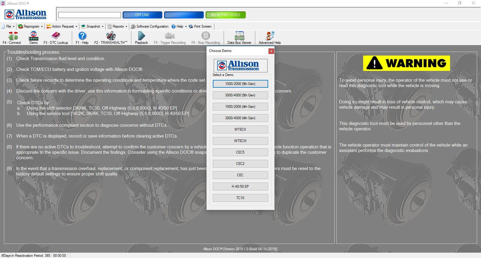 Universal_Allison_DOC_v201910_Build_042019_Transmission_Diagnostic_Software_Full_Instruction_3