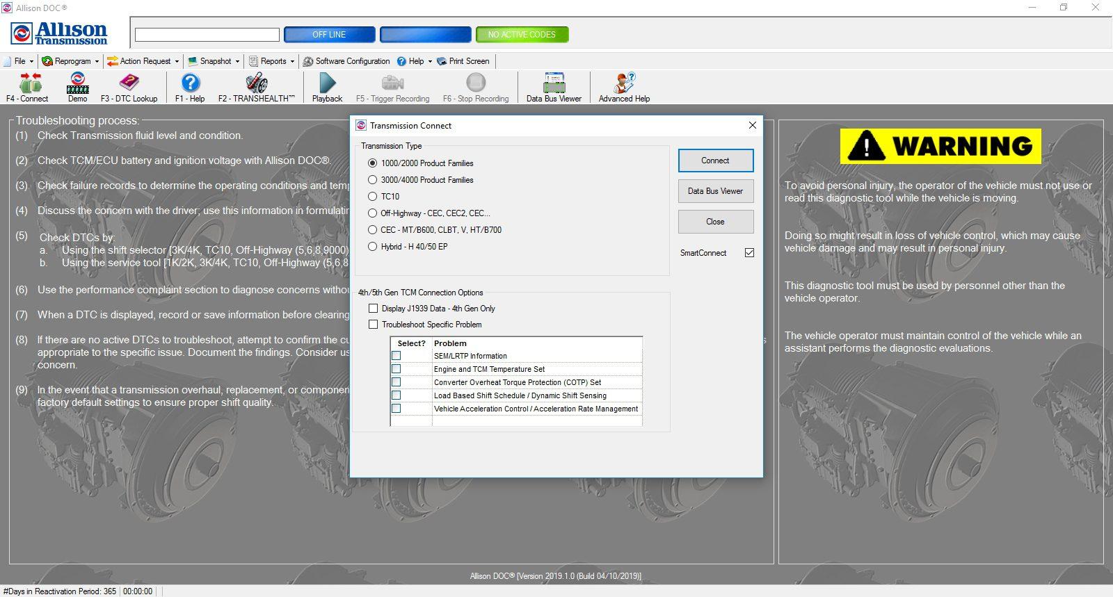 Universal_Allison_DOC_v201910_Build_042019_Transmission_Diagnostic_Software_Full_Instruction_4