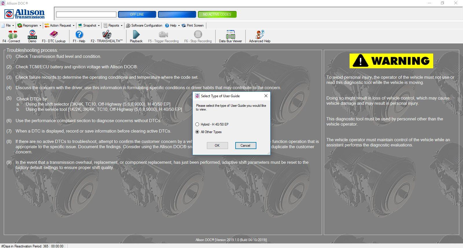 Universal_Allison_DOC_v201910_Build_042019_Transmission_Diagnostic_Software_Full_Instruction_7