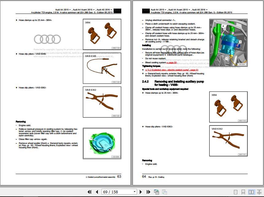 Audi 2020 Bory Repair Manual  Workshop Manuals And Wiring