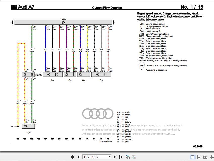 Audi 2020 Bory Repair Manual  Workshop Manuals And Wiring Diagrams Dvd Full Update