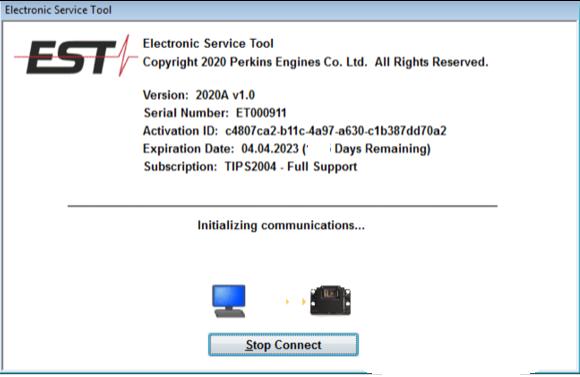 Perkins Est 2020a V1 0-e1 Active License For One Pc