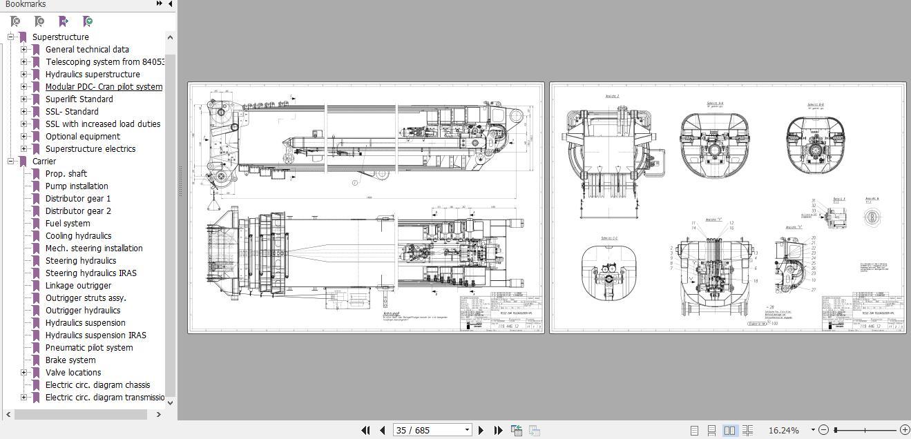 Terex Demag Crane Full Model Service Technical Training