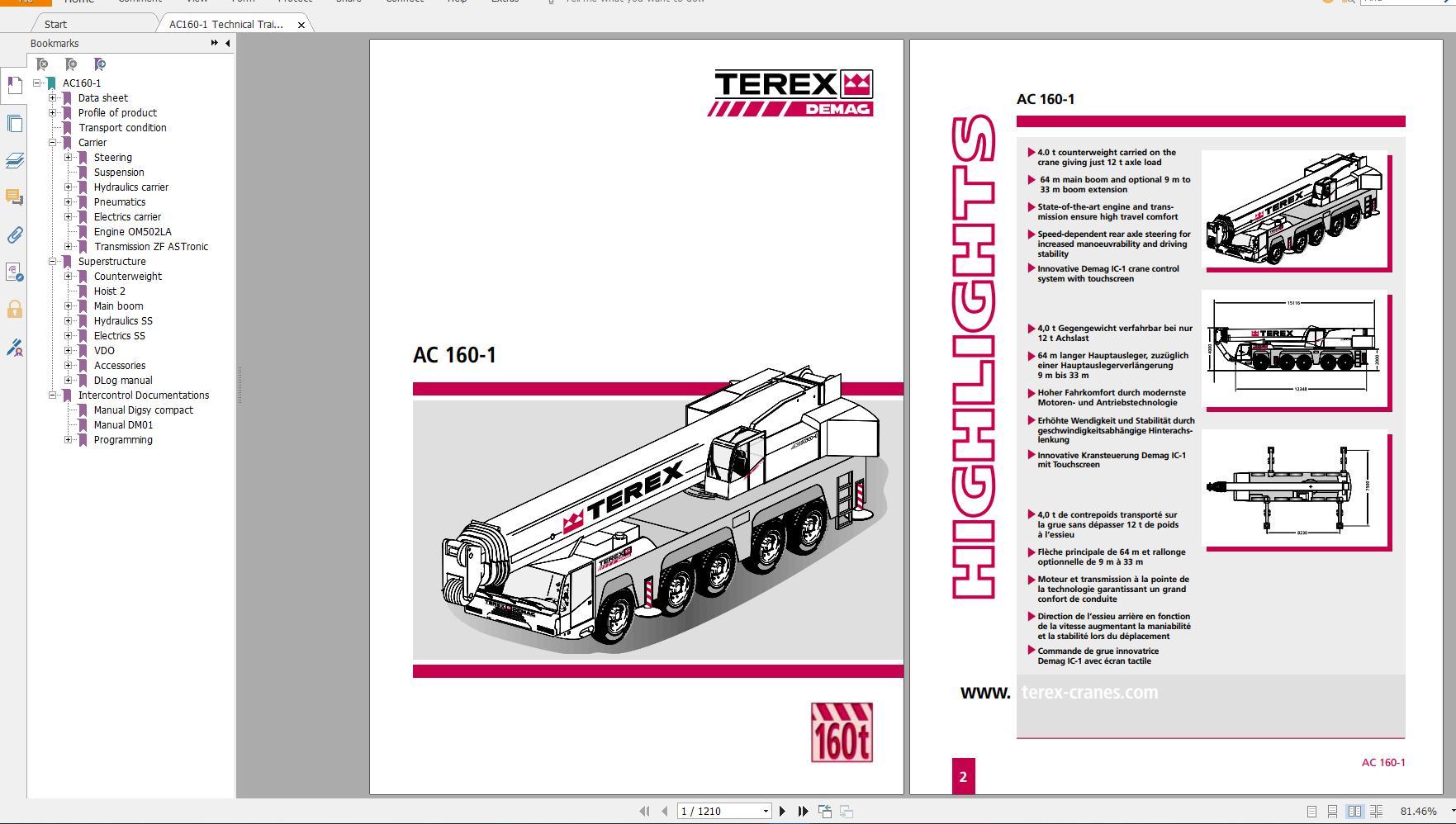 Terex Demag Crawler Crane  U0026 Mobile Crane Technical Service