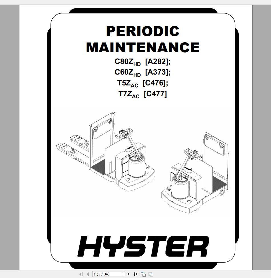 Hyster_Class_3_Electric_Motor_Hand_Trucks_Repair_Manuals9