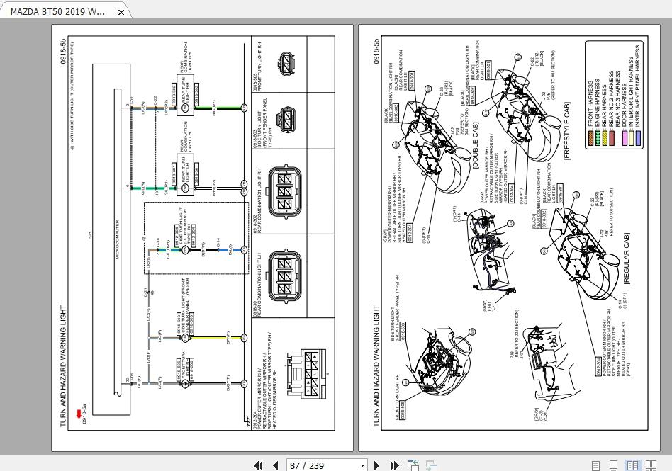 Mazda Bt50 2019 Wiring Diagram Auto, Mazda Wiring Diagrams Pdf