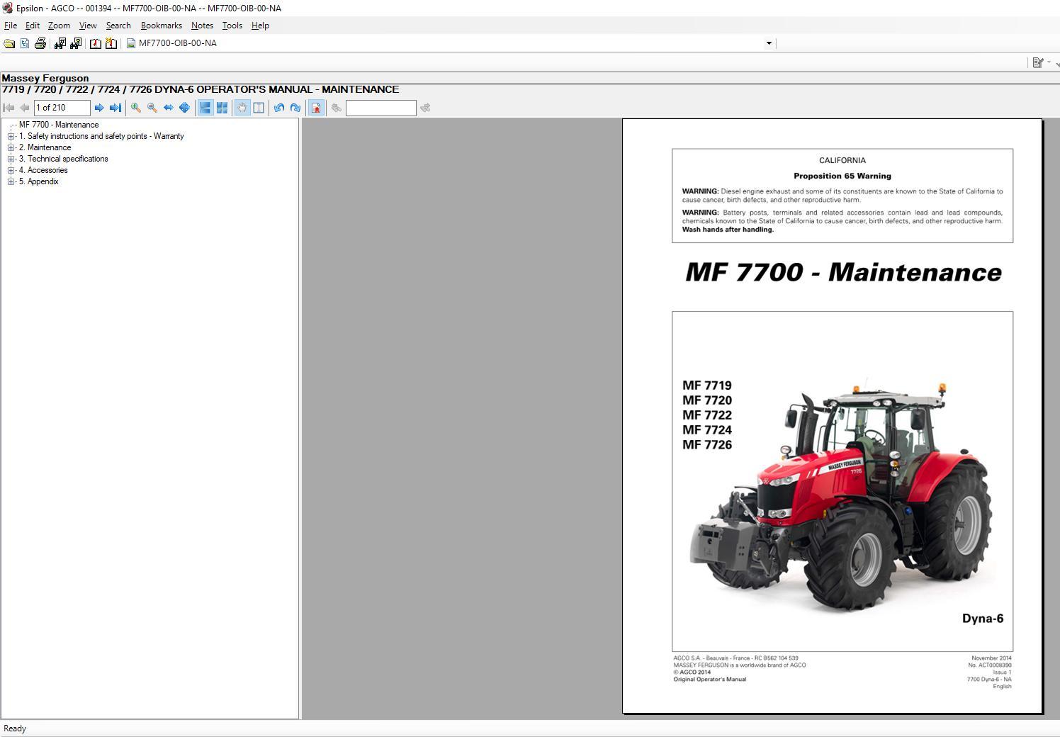 Massey_Ferguson_AG_Europe_Parts_Catalog_Workshop_Service_Manuals_2020_1