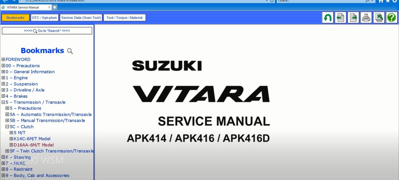 Suzuki 1981-2019 Models Service Manuals 2