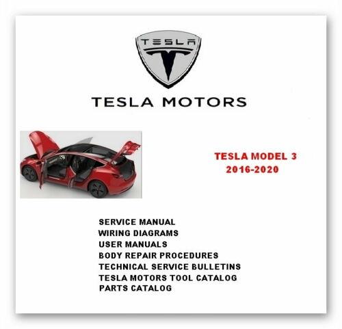 Tesla_Model_3_Full_Service_Repair_Manuals_2016-2020_DVD_0