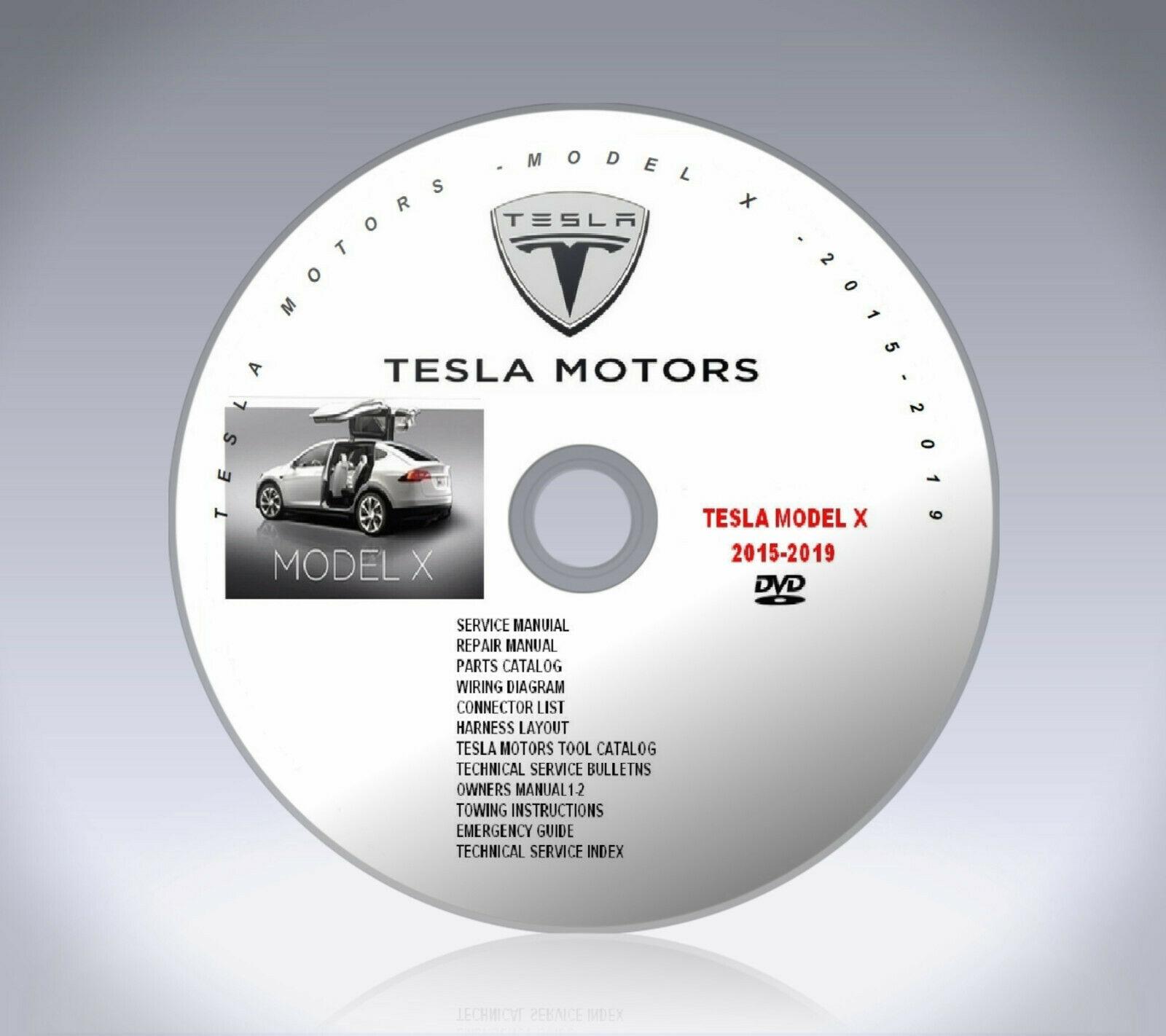 Tesla_Model_X-Full_Collection_2015-2019_Service_Repair_Manuals_Part_Catalog_DVD_0