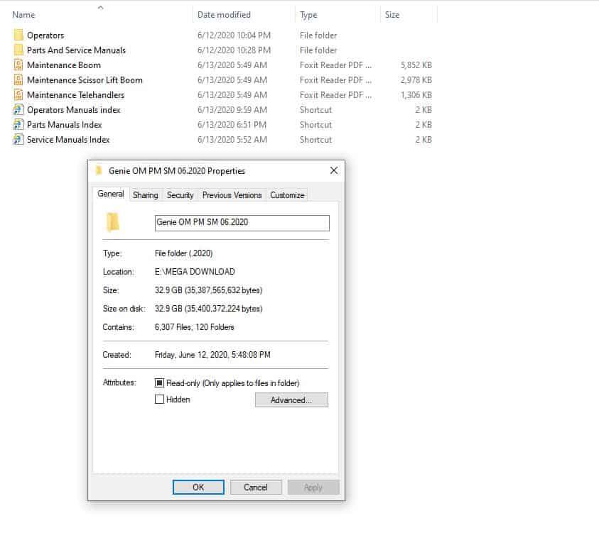 Genie_Lift_Operators_Manuals_Parts_Manuals_Service_Manuals_062020_DVD1