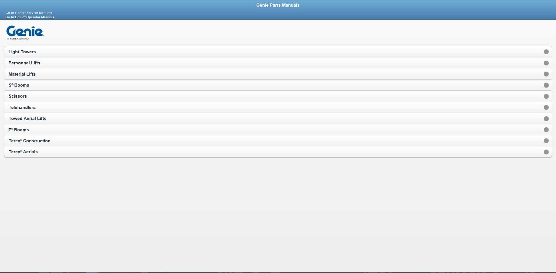 Genie_Lift_Operators_Manuals_Parts_Manuals_Service_Manuals_062020_DVD3