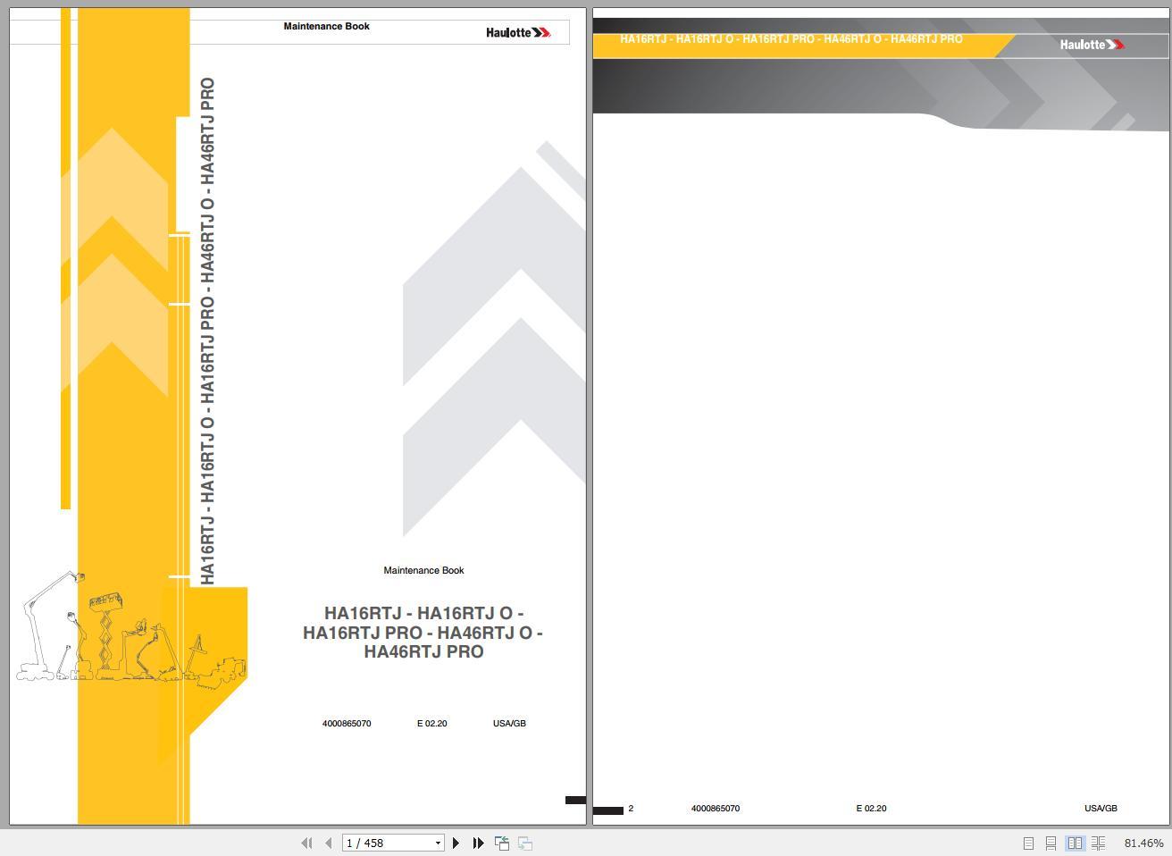 Haulotte_Work_Platforms_062020_Service_Maintenance_Operators_Manual_Training_Spare_Parts_Manual_DVD1