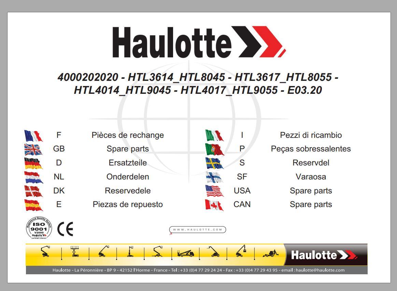 Haulotte_Work_Platforms_062020_Service_Maintenance_Operators_Manual_Training_Spare_Parts_Manual_DVD9